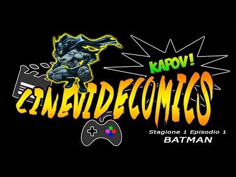 CineVideComics - BATMAN (Stagione 1 Puntata 1)