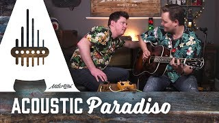 How can I amplify my acoustic guitar? Acoustic Or Electric Amp? thumbnail