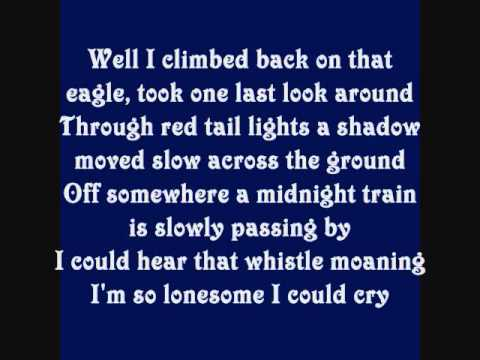 Alan Jackson Midnight In Montgomery Lyrics