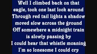 Alan Jackson Midnight In Montgomery Lyrics