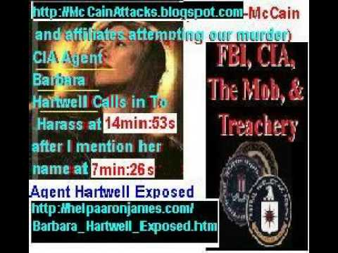 Barbara Hartwell Exposed CIA Disinformation Agent