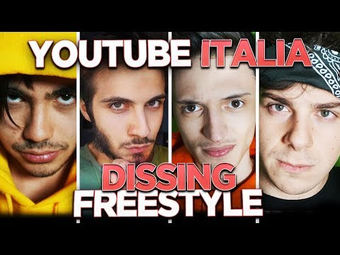 YOUTUBE ITALIA DISSING FREESTYLE!  [500k SPECIAL #1]