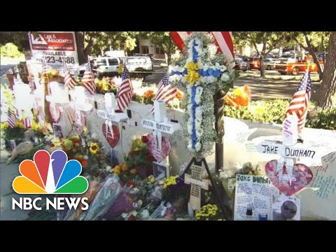 Community Grieves Thousand Oaks Shooting With White Wooden Crosses | NBC News