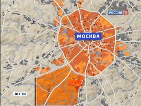Москва меняет формы и границы