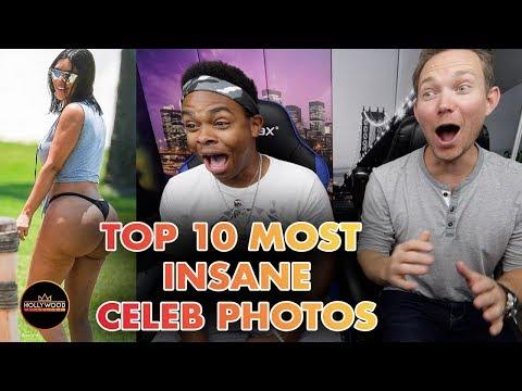 Top 10 Most Insane Celebrity Photos ft Dang Matt Smith