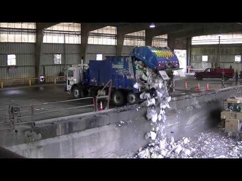 Garbage Trucks Unloading - Part 2