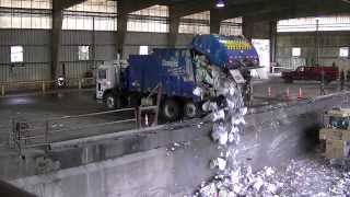 Garbage Trucks Unloading - Part 2
