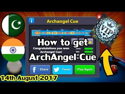8 Ball Pool - How To Get ArchAngel Cue + VIP Black Diamond [HD]