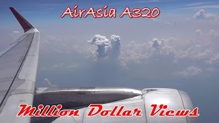 Video AirAsia 320 Bangkok - Kuala Lumpur Takeoff Amazing View Landing download MP3, 3GP, MP4, WEBM, AVI, FLV Juni 2018