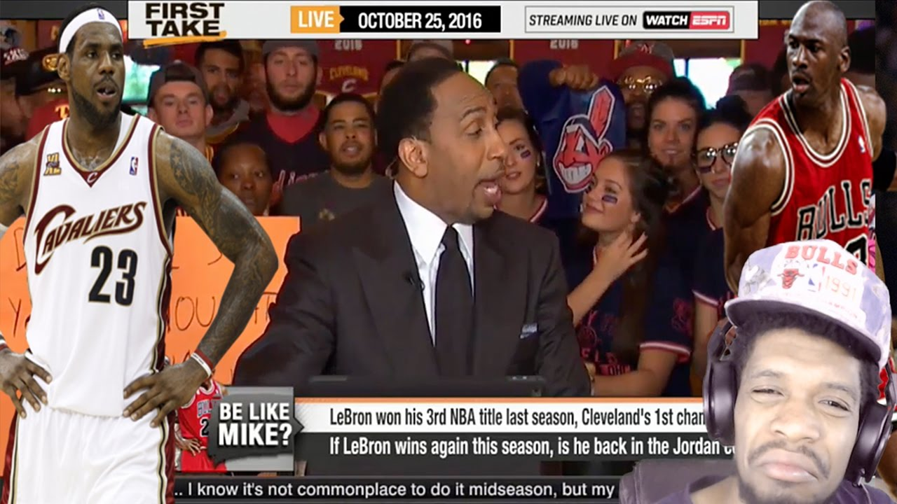51ceed8871c IS LEBRON JAMES BETTER THAN MJ IF THE CAVS WIN REACTION!   - YouTube