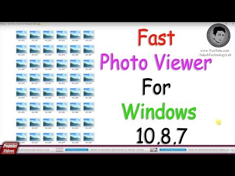 Fast Photo Viewer For Windows 10,8,7