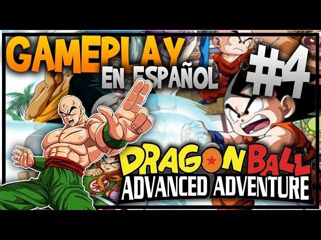 DRAGON BALL Advanced Adventure #4 - Tenshinhan nos mira mal - GAMEPLAY en ESPAÃ'OL