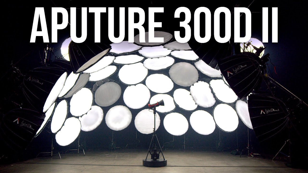 Introducing the Aputure 300d  II