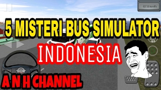 Gambar cover Harus Nonton! 5 misteri bus simulator Indonesia|Bus Simulator Indonesia BUSSID
