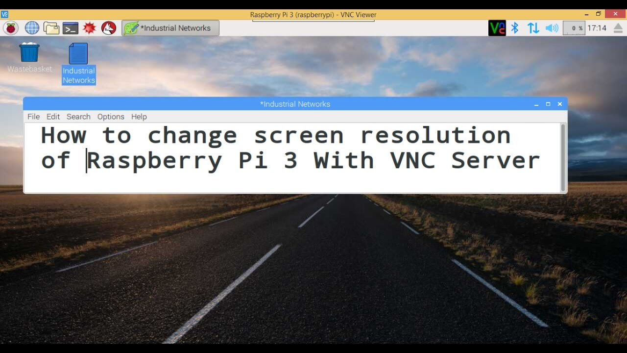 how to start vnc server raspberry pi
