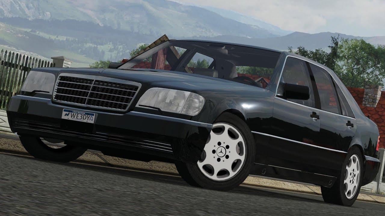 Mercedes benz 500se w140 39 91 drive links racer free for Mercedes benz 500se