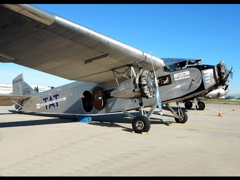 Flight on a Legendary 1928 Ford Tri-Motor Long Beach Airport (KLGB) GoPro