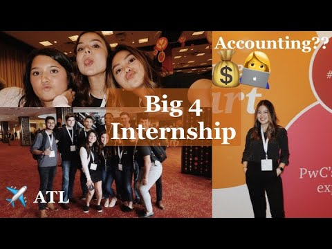 My first week at PwC - Big 4 Internship