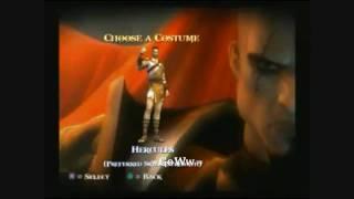 GOD of WAR 2 Personajes y Trajes Secretos (Tesoros y Secretos) HD