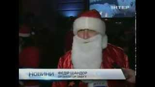 В Ужгороде провели ночной забег по набережной города(, 2013-12-19T10:11:15.000Z)