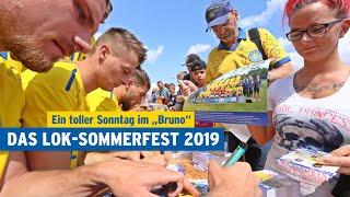 DAS GROSSE SOMMERFEST DES 1.FC LOK LEIPZIG 2019