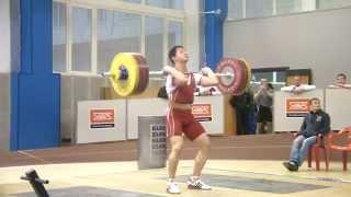 Тяжёлая атлетика Торопов Влад 17 лет,73.5 Толчок 158 кг