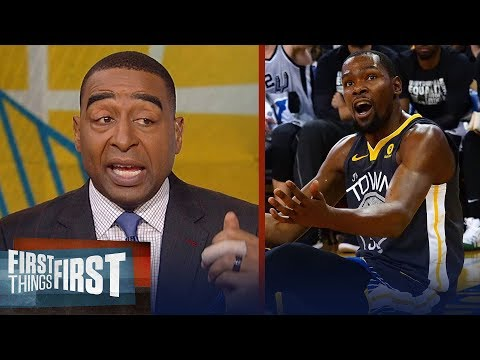 Cris Carter on why Durant's Warriors will not win the 2018 NBA championship | FIRST THINGS FIRST