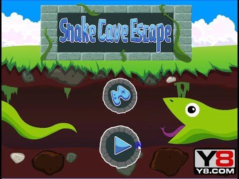 Snake Cave Escape (Puzzle Game)