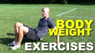 4 weird bodyweight exercises that rock your body