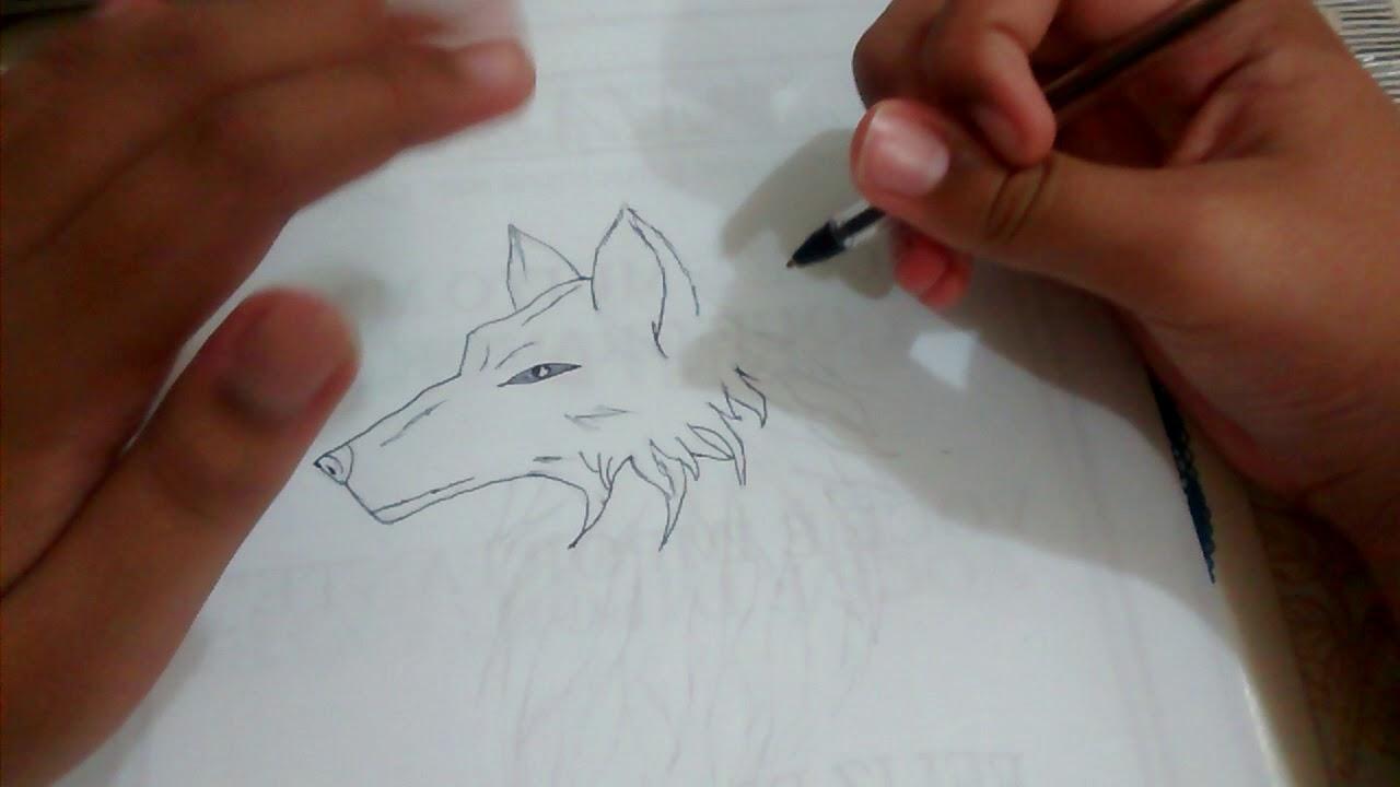Como Desenhar A Cabeca De Um Lobo Como Desenhar Youtube