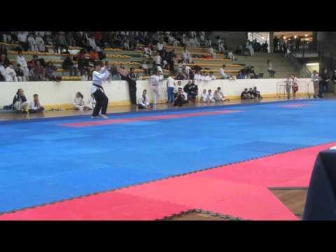 Coppa Chimera Poomsae Taekwondo Freestyle Oro Junior Taekyon Club Arezzo