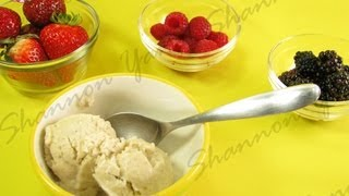 Healthy And Creamy Ice Cream With One Ingredient In One Minute!