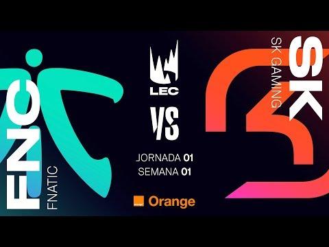 LEC EN CASTELLANO - FNATIC VS SK GAMING - LEAGUE OF LEGENDS EUROPEAN CHAMPIONSHIP - DÍA 1 #LECENLVP