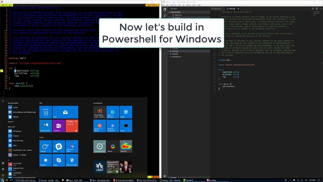 Linux development on WSL/Windows