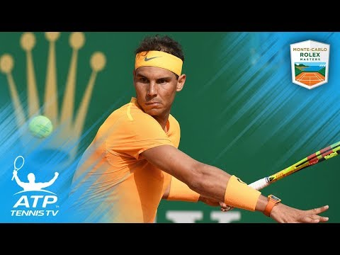 Nadal dominates Bedene; Djokovic sets up Thiem clash | Monte-Carlo 2018 Highlights Day 4