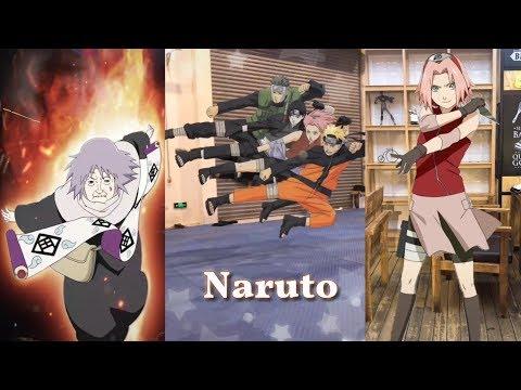 """[Tiktok] Trào lưu biến hình cực ngầu các nhân vật trong """"Naruto"""""""