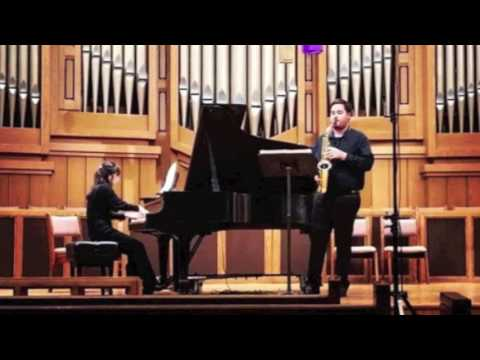 Music for Alto Saxophone and Piano by Frederick Lesemann