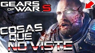 GEARS OF WAR 5 - COSAS QUE NO VISTE DEL NUEVO TRAILER | EASTER EGGS