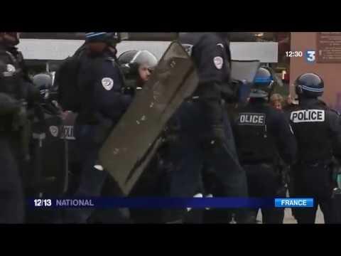 Gare de Lyon Part-Dieu : des individus saccagent un TGV, 29 interpellations