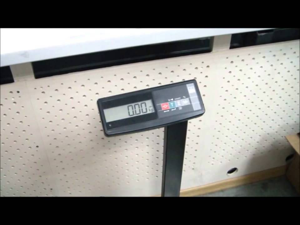 Товарные напольные весы ТВ-М МАССА-К - обзор - YouTube