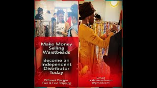 Start making money by selling waistbeads