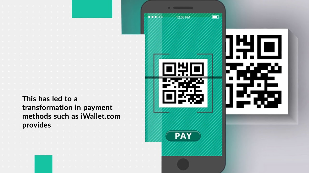 The new IWallet QR Technology is entirely free for both consumers and merchants - iWallet
