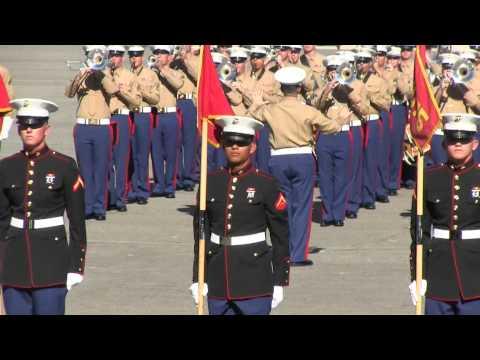 Basic Marine Graduation Ceremony