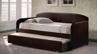 Springfield Daybed With Trundle � Brown