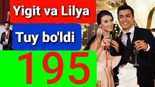Qora Niyat 195 qism uzbek tilida turk filim кора ният 195 кисм