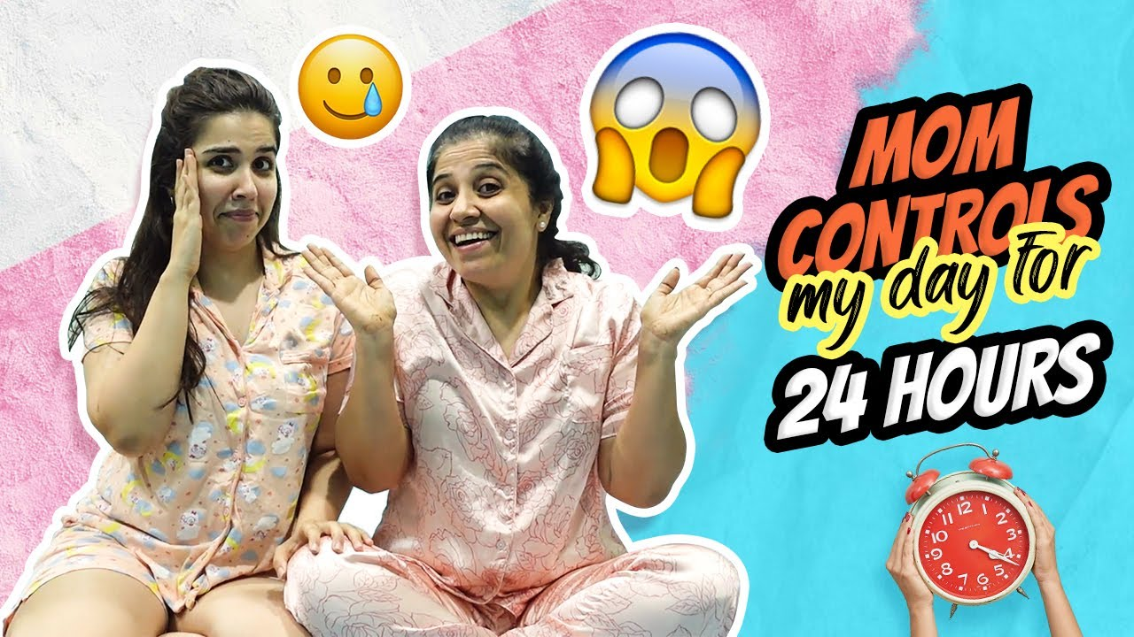 *DESI *😱😢 MOM controls my life for 24 Hours! WHATTT?   Heli Ved