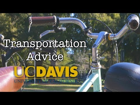 Winter Quarter Advice- Transportation || UC Davis College Tips