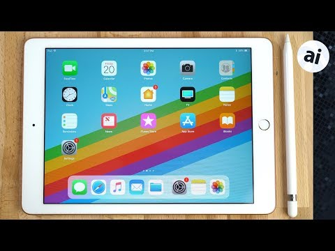 Top 10 Features for your New 2018 iPad!