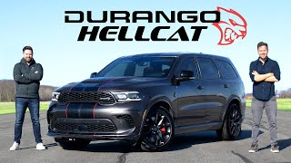 2021 Dodge Durango SRT Hellcat Review // 710-Horsepower SUV King