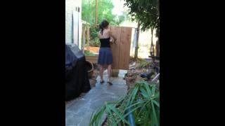 Sonja Stone--Throwing Knives